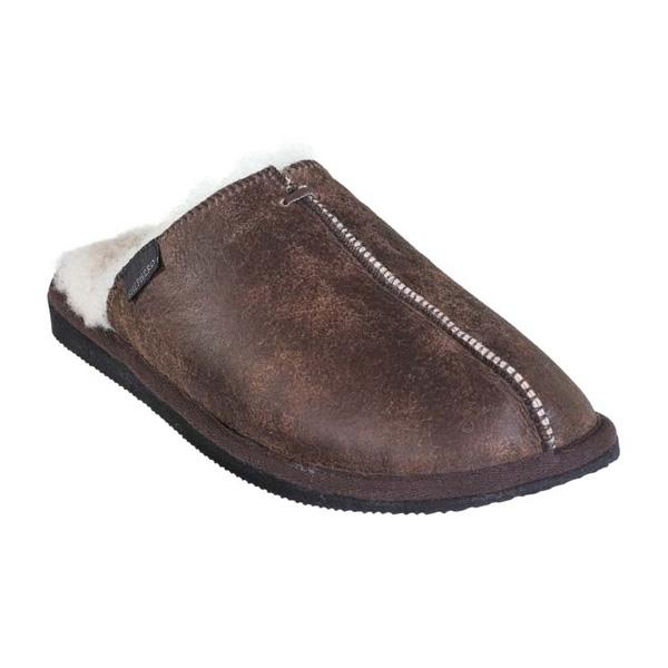 Shepherd HUGO slippers hjemmesko - Oiled antique